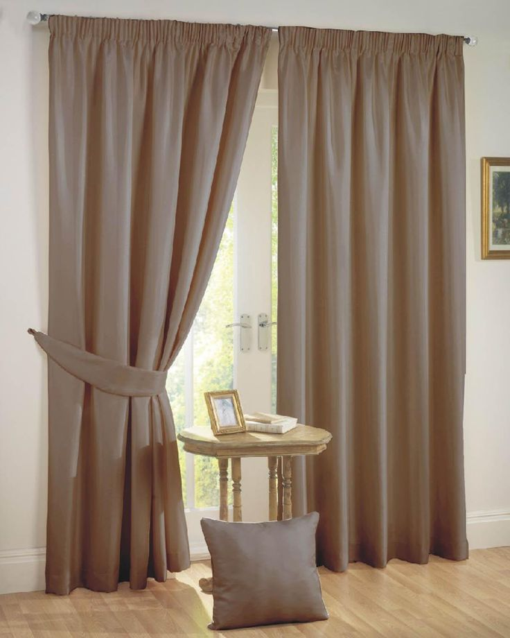 Sunset Ready Made Curtains Mocha | Beige Curtains | UK Delivery