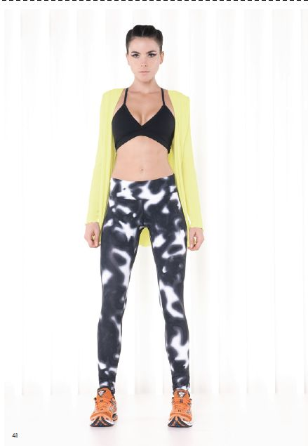 Ever so stylish and cool these leggings ideal for sportswear or casualwear.  One size. www.divineyou.co.nz