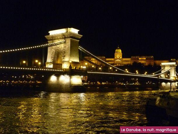 Budapest, la nuit...
