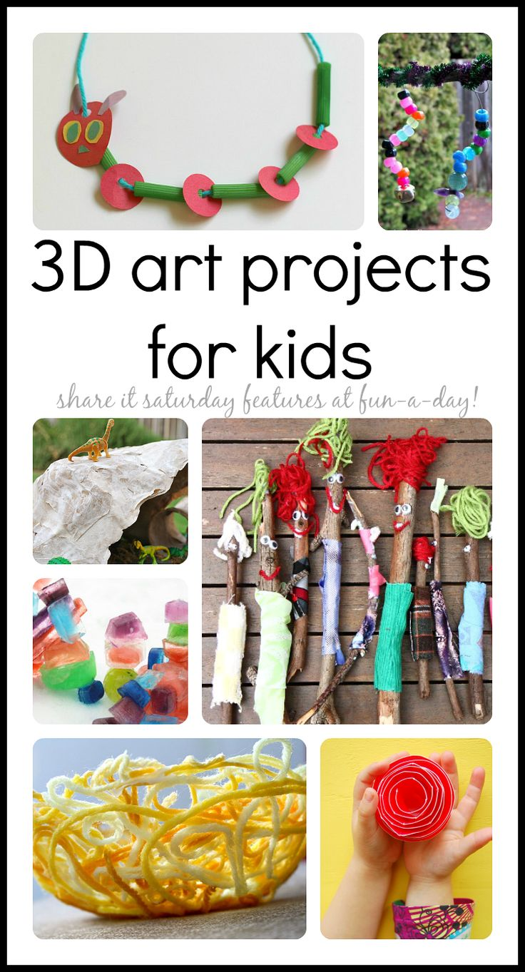 3d art projects for kids that inspire creativity 3d art for 3d art projects
