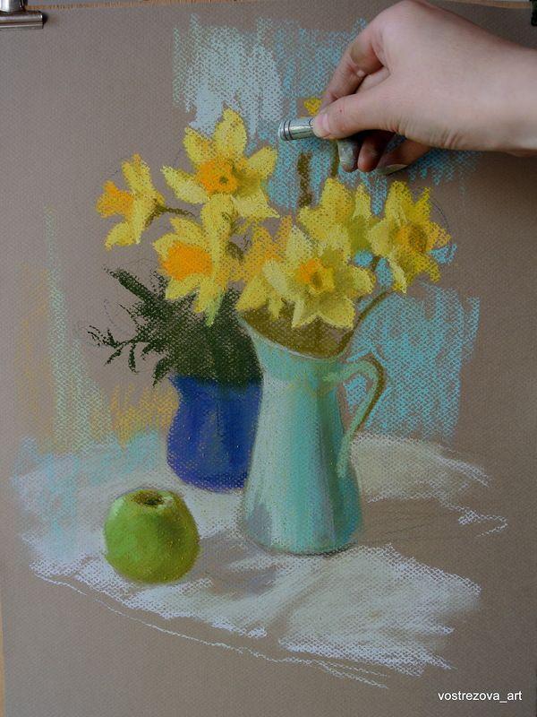 master_klass: Давайте порисуем! Мастер-класс по рисованию сухой пастелью.