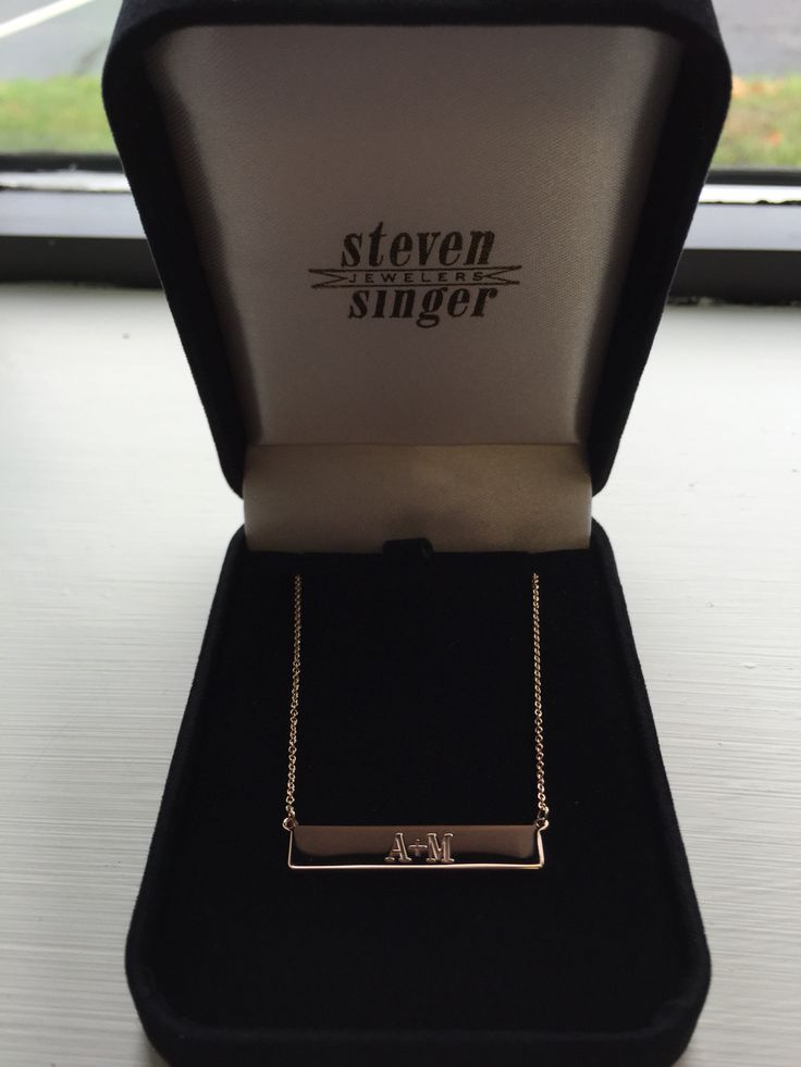 93 best Perfect Gifts images on Pinterest   Singer  Singers and      ihatestevensing I LOVE my new bar necklace    Thank you so so much