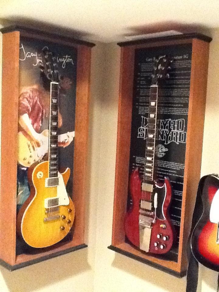 12 best bass guitar display cases frames images on pinterest bass guitars cabinets and. Black Bedroom Furniture Sets. Home Design Ideas