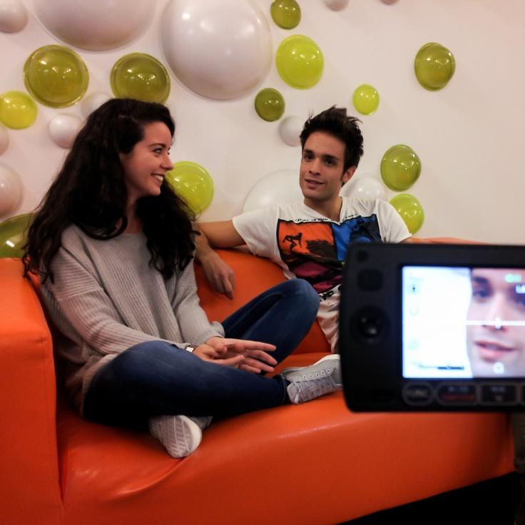 Ludovica & Anthony #takeawalk #backstage  http://www.youtube.com/watch?v=Zh-AqT8vofI