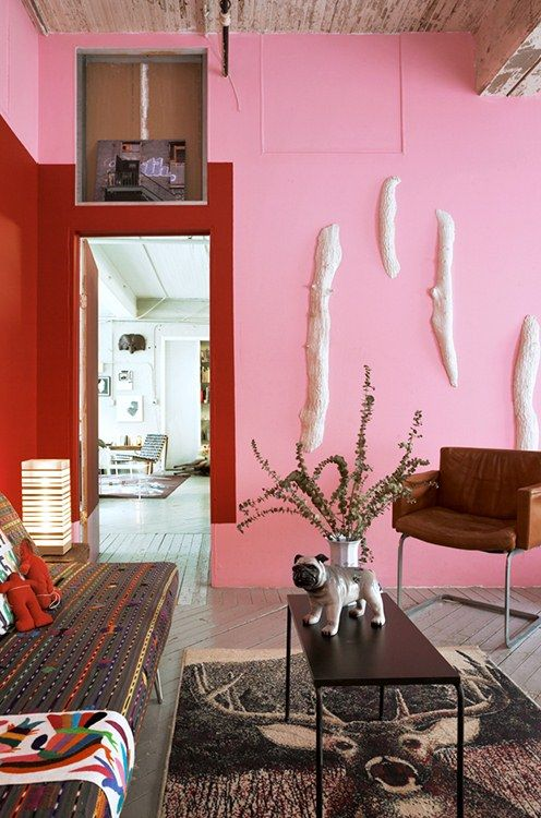 99 best Pink rooms images on Pinterest | Pink room, Wall colors and ...