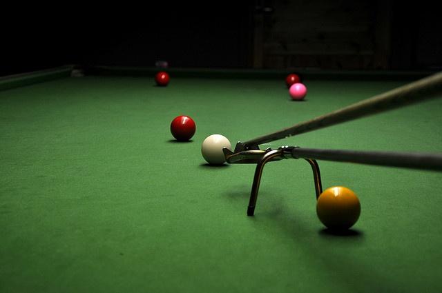 #Snooker - spider rest    Like