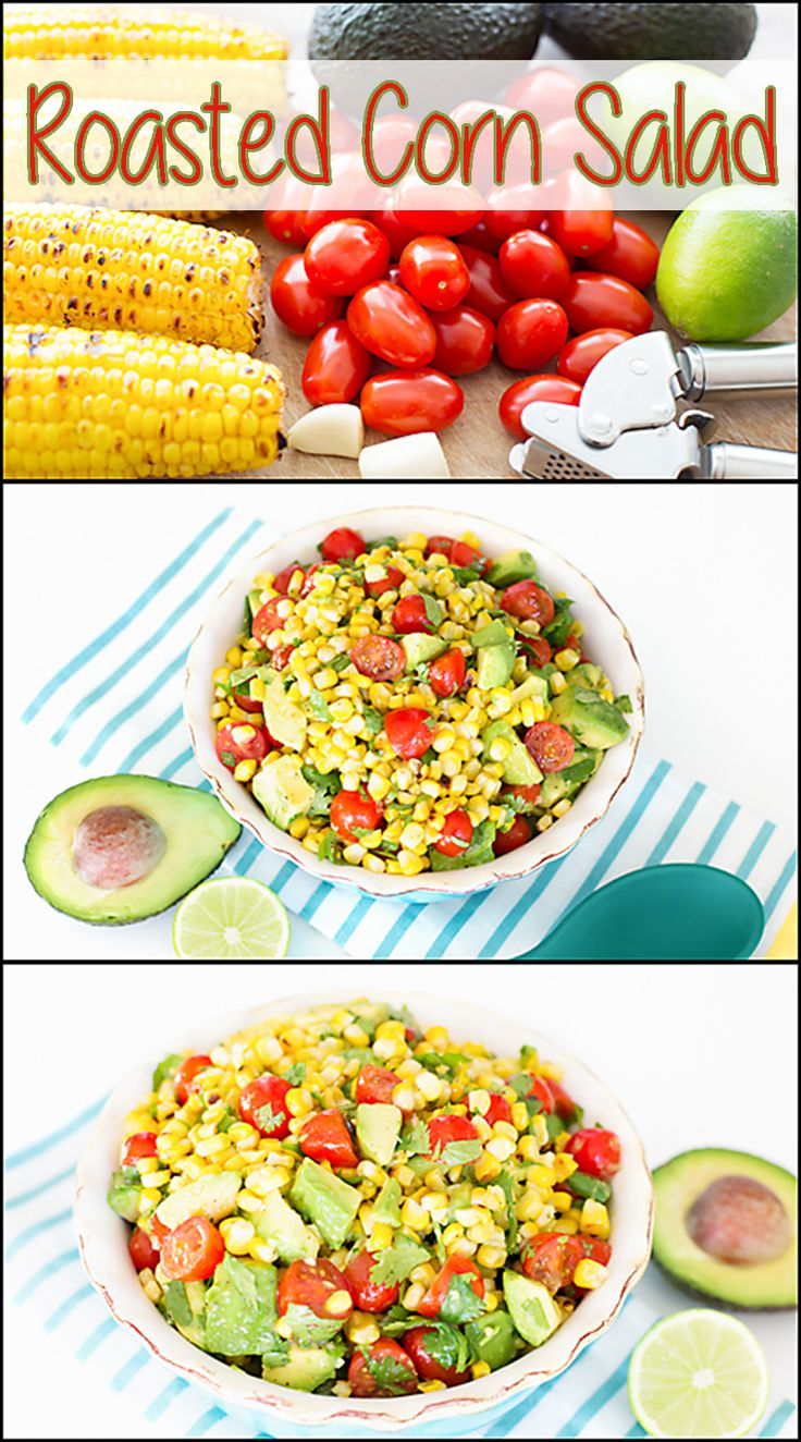 This Roasted Corn Salad is my summertime favorite!! www.joyineveryseason.com