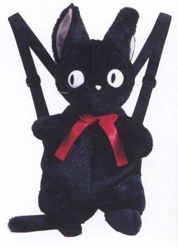Kiki's Delivery Service Jiji rucksack Studio Ghibli.From japan EMS