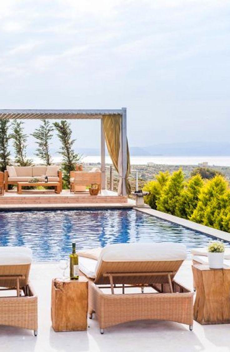 Villa Martin in Kalathas, Chania, Crete. Book now a beautiful villa in TheHotel.gr !