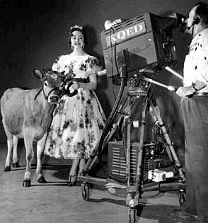 As the television industry grows so does the interest in educational television. In 1957, California law allows public schools to use instructional television, and KQED launches instructional services for schools in 1958 in Northern California.  (1950's KQED history, 2012)