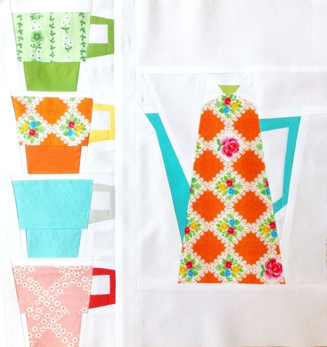 25 best images about Quilting: Patterns with Kitchen Items on Pinterest Quilt, Paper pieced ...