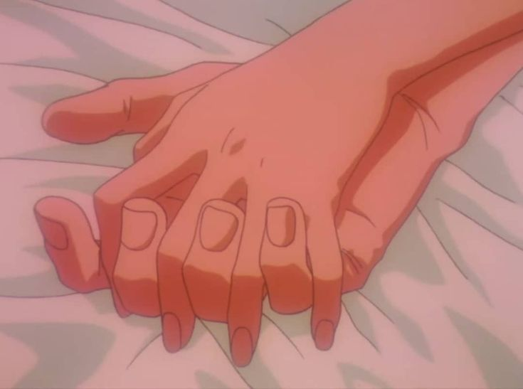 Hold My Hand M Hand Hold Holding Anime Scenery Aesthetic Art