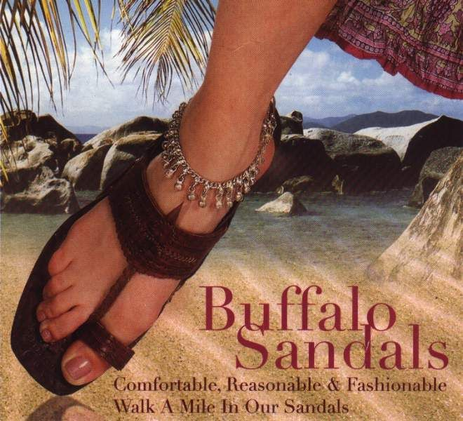 Water Buffalo Sandals Were Popular In The 60 S Amp 70 S I