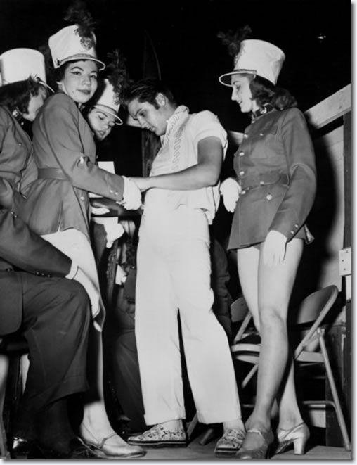 Elvis Presley at the Mid-South Fair : Memphis : September 29, 1956