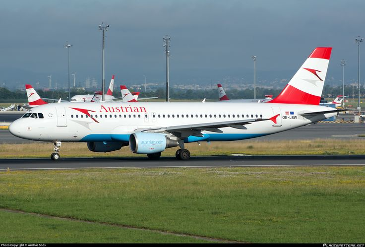 OE-LBW Austrian Airlines Airbus A320-214
