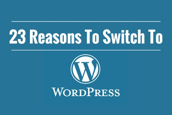 23 Reasons to Switch To Wordpress Featuring @peopleperhour @woothemes @odesk @OnlineJobsPH @codecanyon @ithemes and more