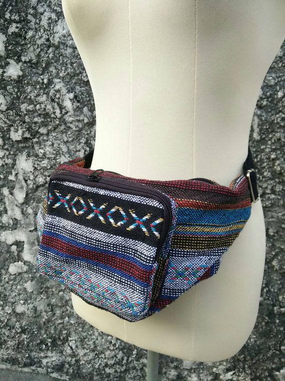 Ethnic Bum bag Festival Fanny pack Boho Hobo by TribalSpiritShop