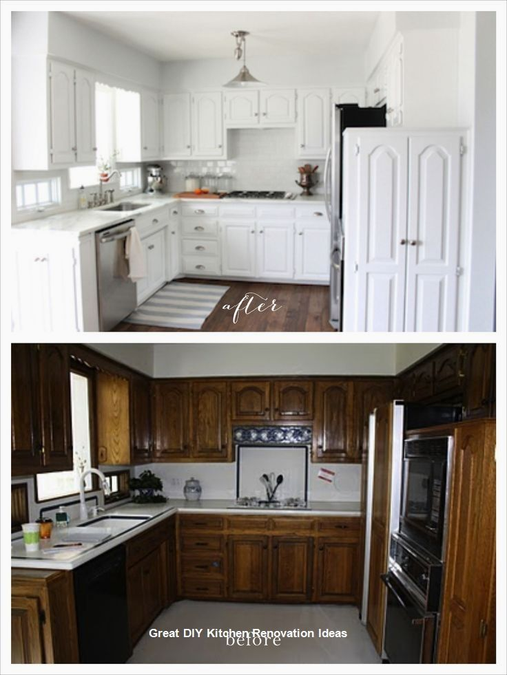 Diy Kitchen Remodeling Kitchen Makeover Kitchen Renovation