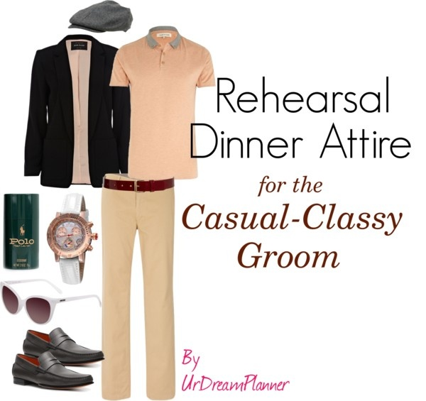 """Rehearsal Dinner Attire: For Casual-Classy Groom"" by urdreamplanner on Polyvore"