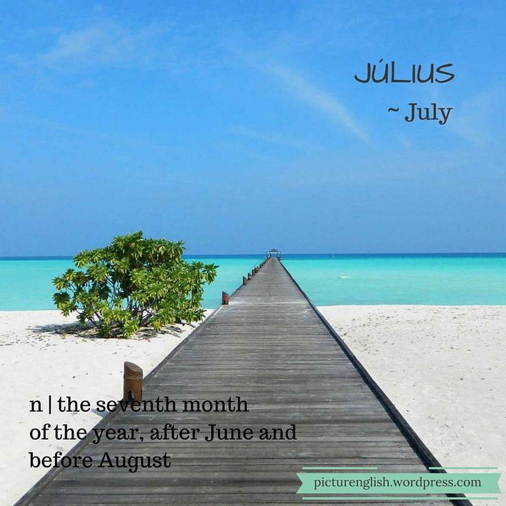 July / Július