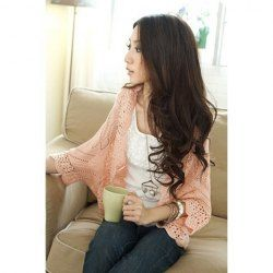$10.09 Autumn Fashion Style Pure Color Hollow Out Sweaters. Cheap place
