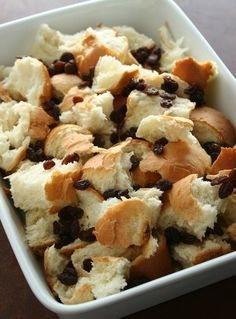 Capirotada. Mexican Bread Pudding