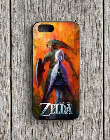 The Legend Of Zelda Poster iPhone 5   5S Case
