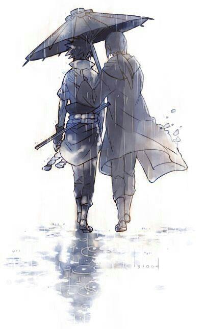 Itachi and Sasuke Uchiha #shippiden