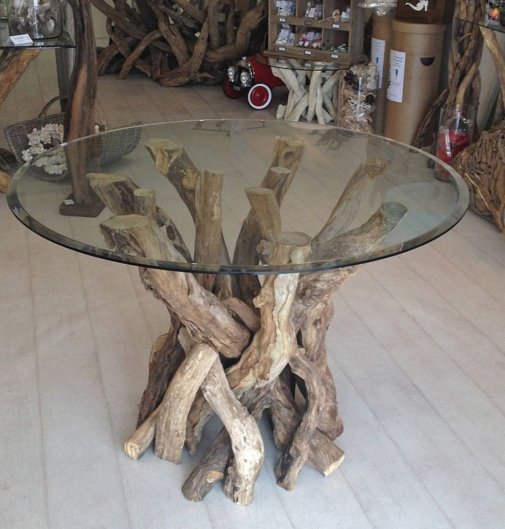 17 Best Ideas About Driftwood Table On Pinterest Blue Tabourets