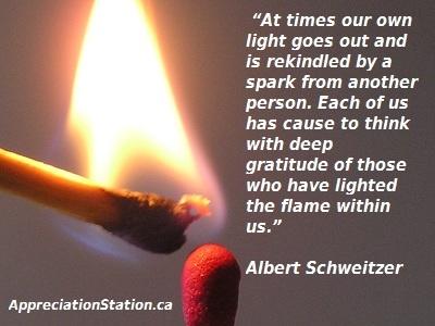 I took it, I teach it, I live it!      Who needs your gratitude today?  http://appreciationstation.ca/