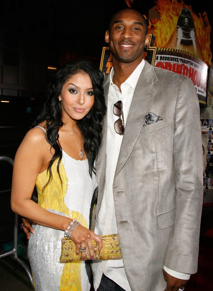 Kobe Bryant and wife Vanessa