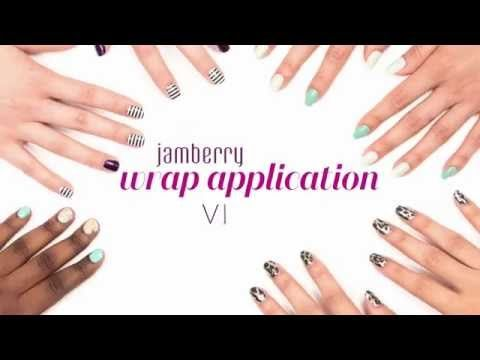How to Apply Nails | Jamberry Nails | Official Application Video (remember you don't need a mini heater, you can use any heat source, like a hair dryer)