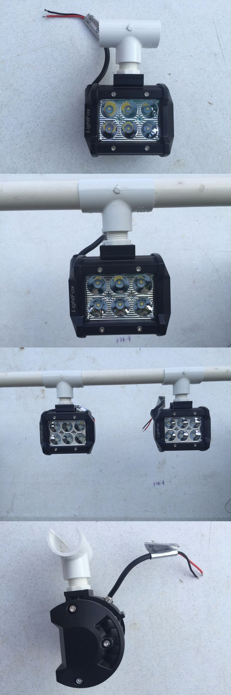 Lights 123489: Boat Light Waterproof Pvc Snap Head Led 18 Watts 1800 Lumens 12 Volt (Fishing) -> BUY IT NOW ONLY: $42.99 on eBay!
