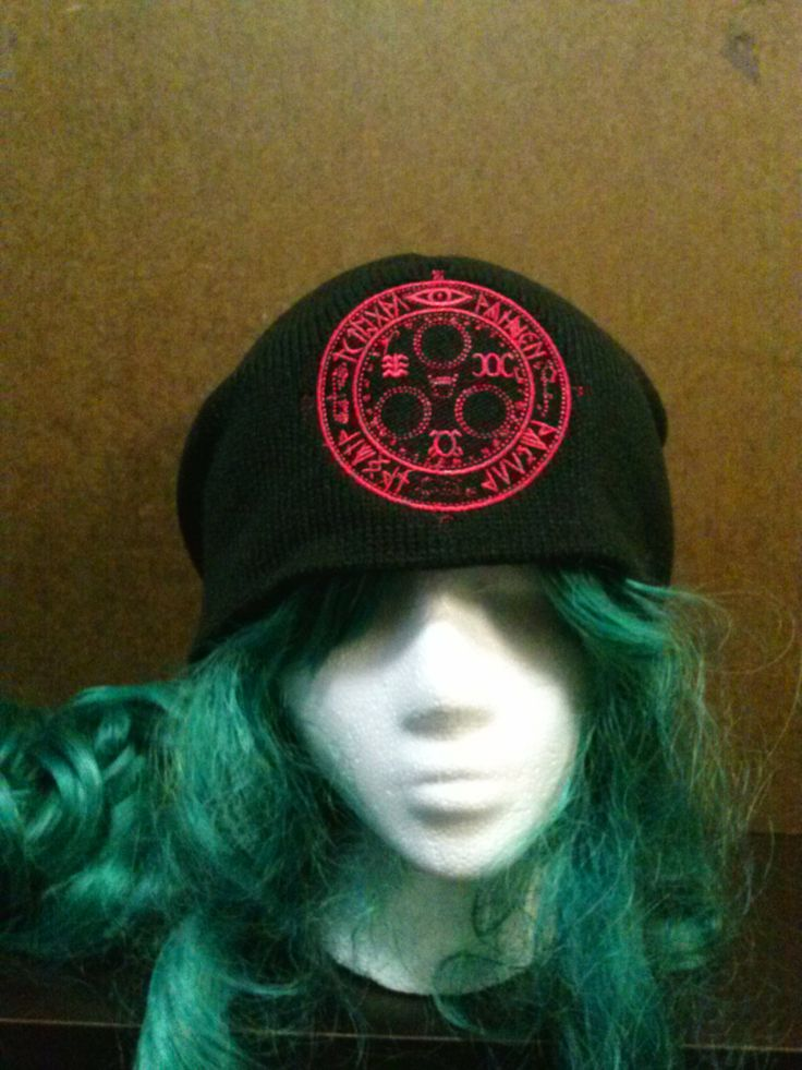 Silent Hill Inspired Halo of the Sun Beanie Skull by JunkJungle, $15.00