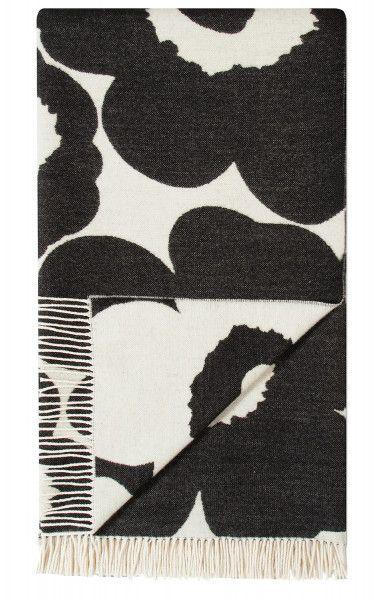 Marimekko Unikko Wolldecke 130x192 cm limitiert