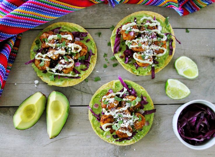 ... Shrimp Tostadas on Pinterest | Tostadas, Prawn and Grilled Shrimp