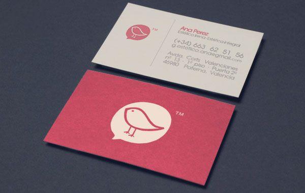 10 modelos de cartão de visita incríveis! | Printi