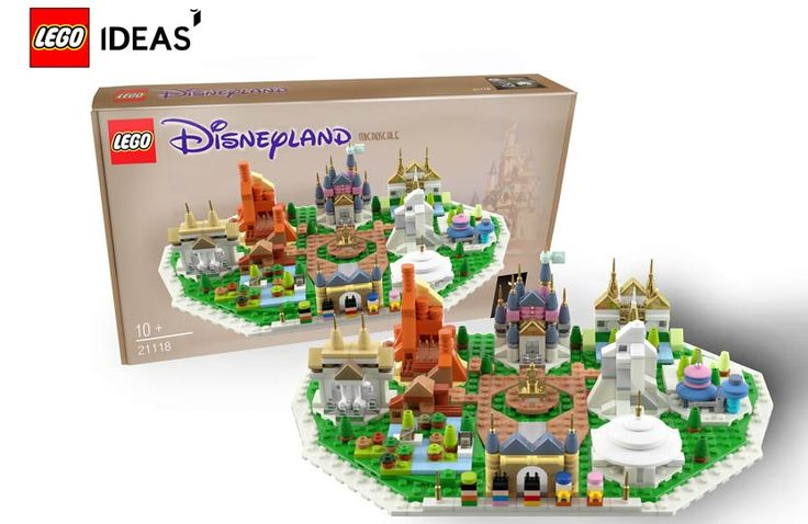 LEGO Microscale Disneyland Project needs your vote today