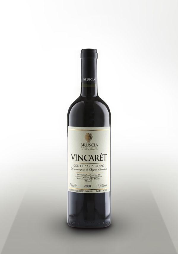 Cantine Bruscia | Vincarèt, label wine design