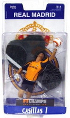 Iker Casillas Real Madrid FT Champs Action Figure Serie 4-4-2 NIB Spain NIP