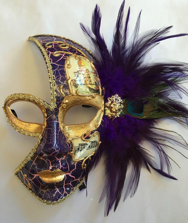 Vanetian Mardi Gras Mask