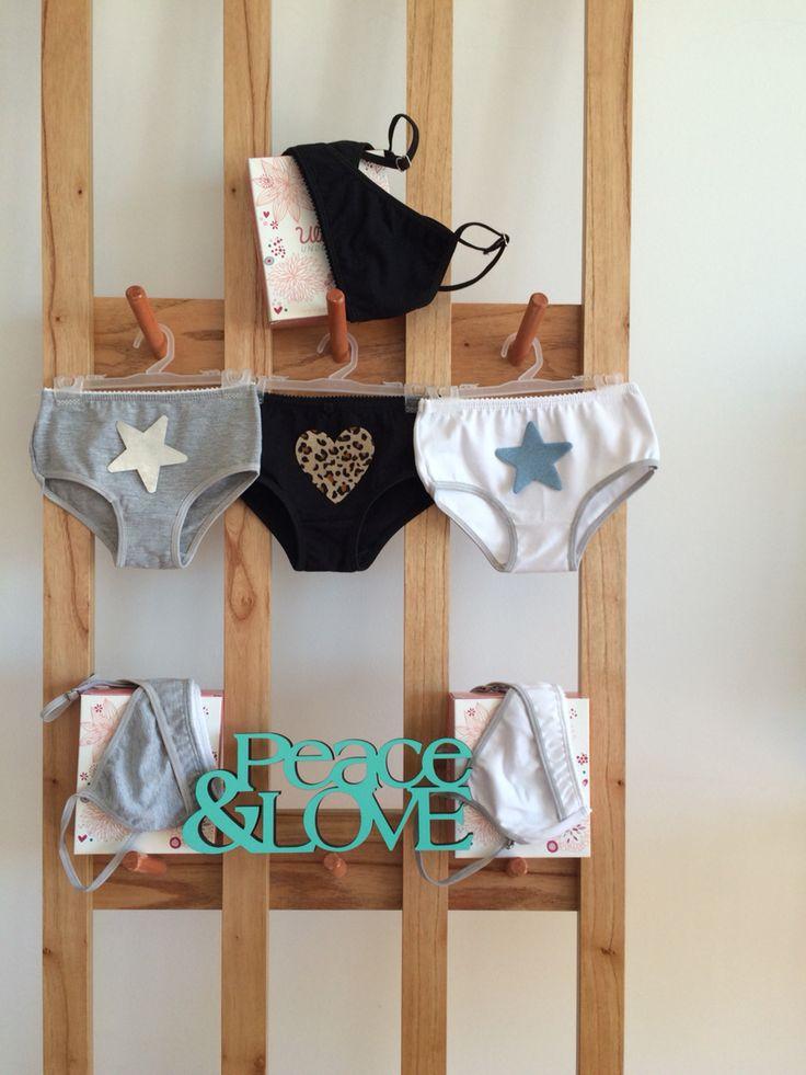Conjuntos de ropa interior con apliques para ellas