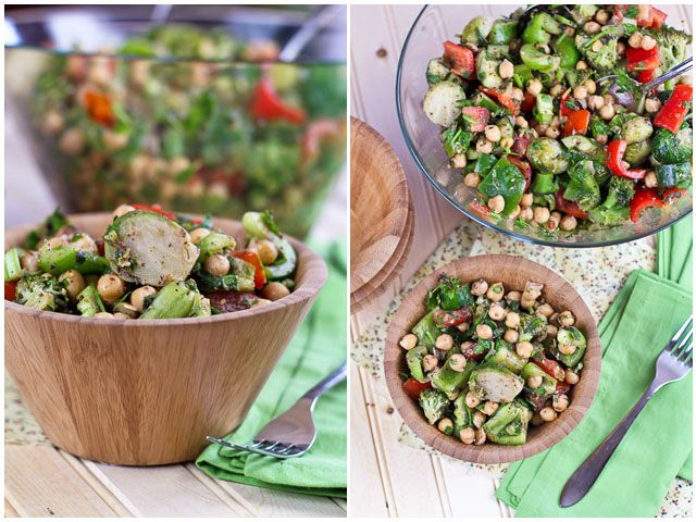 Veggie Overload Chickpea Salad… The Story of Many Cravings | The ...