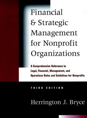 financial management in nonprofit organizations essay An organization receives and how those transactions are recorded for financial state- ment purposes the most common revenue sources for a nonprofit are typically reve.