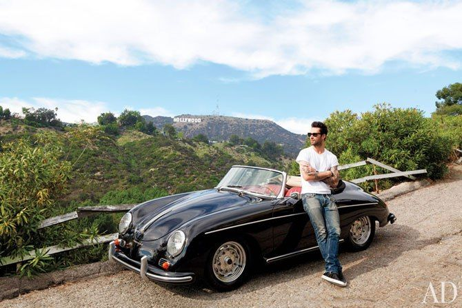 I've wanted this car for as long as I can remember.  I'll take the guy as well.  Adam Levine and Porsche 356.