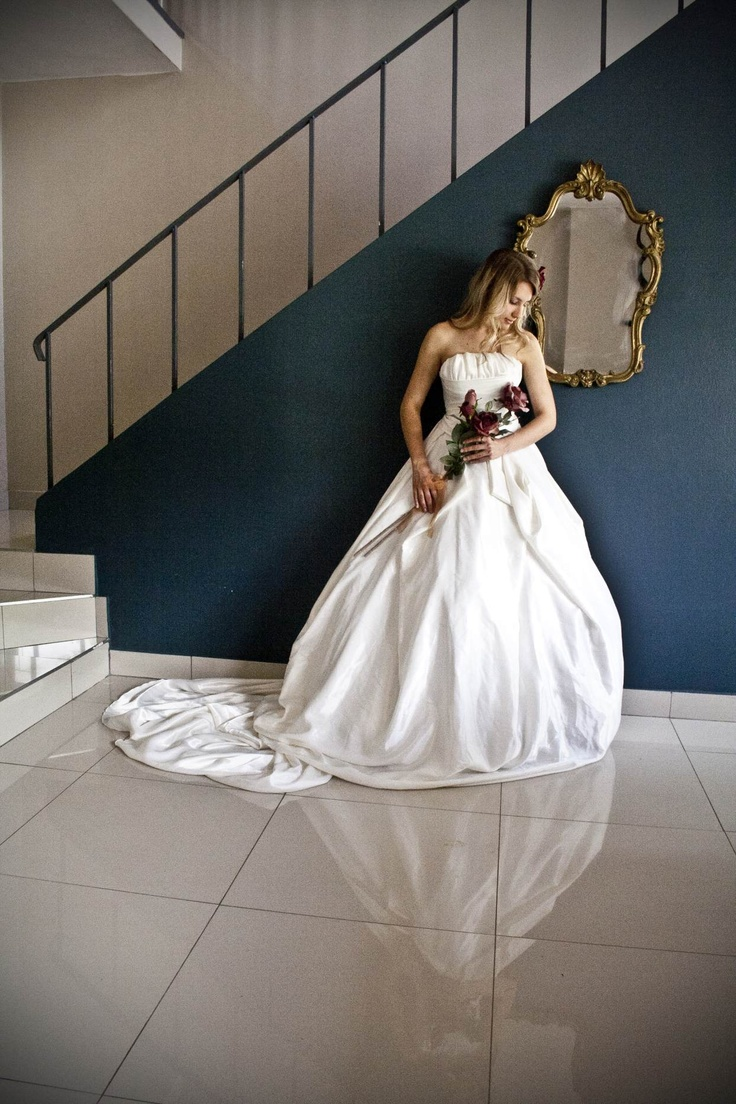 Taffeta gown - made with love by Aplomb Couture