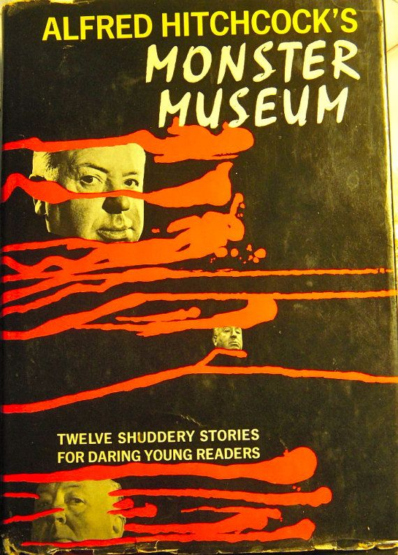 1965 Alfred Hitchcock's Monster Museum  Dust by BasketCaseBooks, $12.00