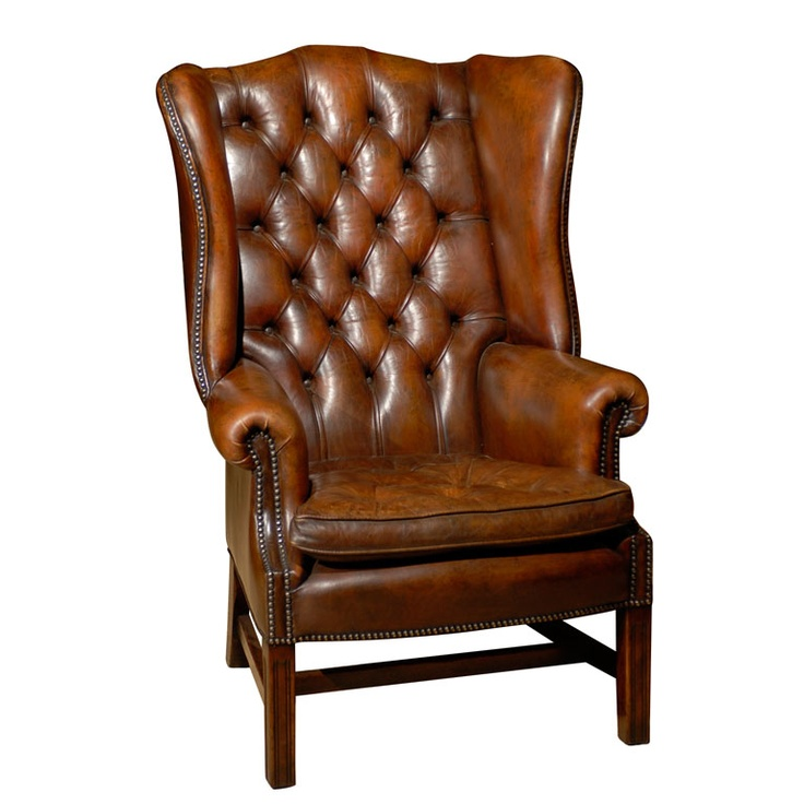 Owletts Tufted Wing Chair