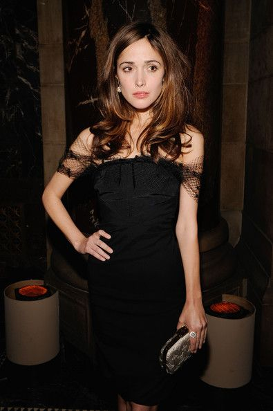 Rose byrne bridesmaids black dress