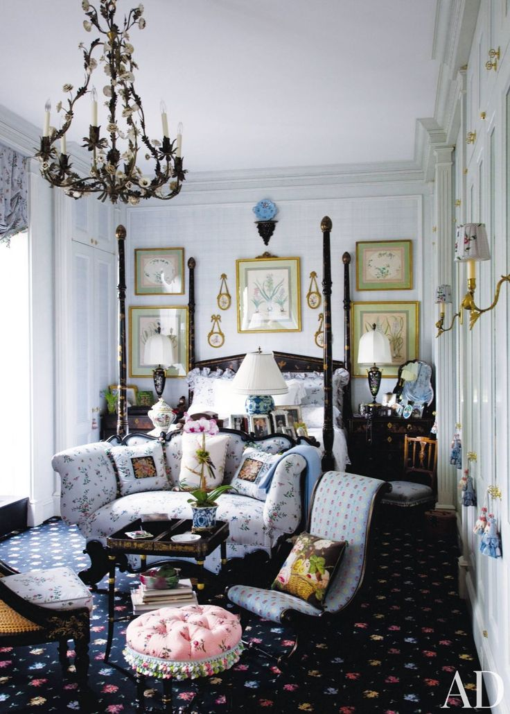 Blue and White rooms by Architectural Digest   AD DesignFile - Home Decorating Photos   Architectural Digest